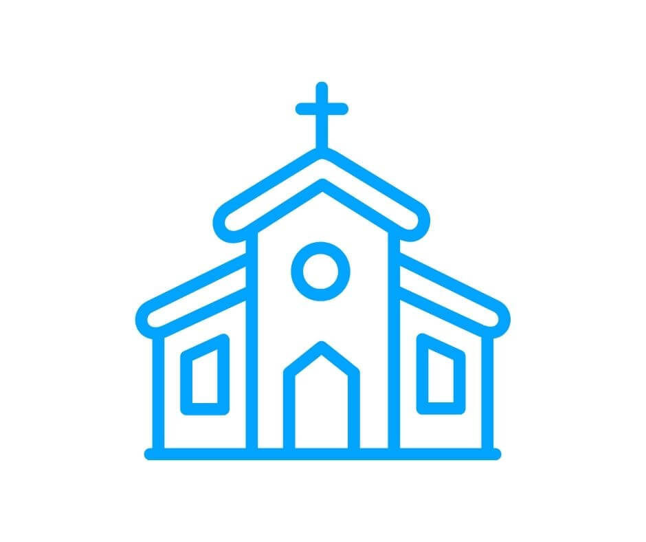 image of a church to represent germrip church cleaning services in OKC