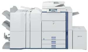 Sharp Copy Machine MX-6200 Review - $17,000