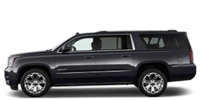 Luxury black suv for Uber in San Diego