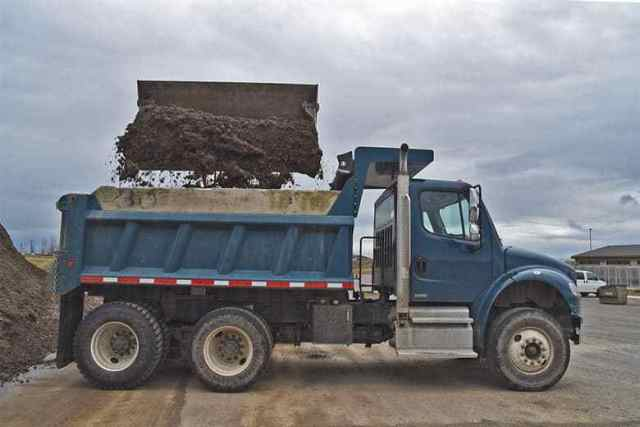 Dump Trucks Can Be Driven with a Class 1 or Class 3 License