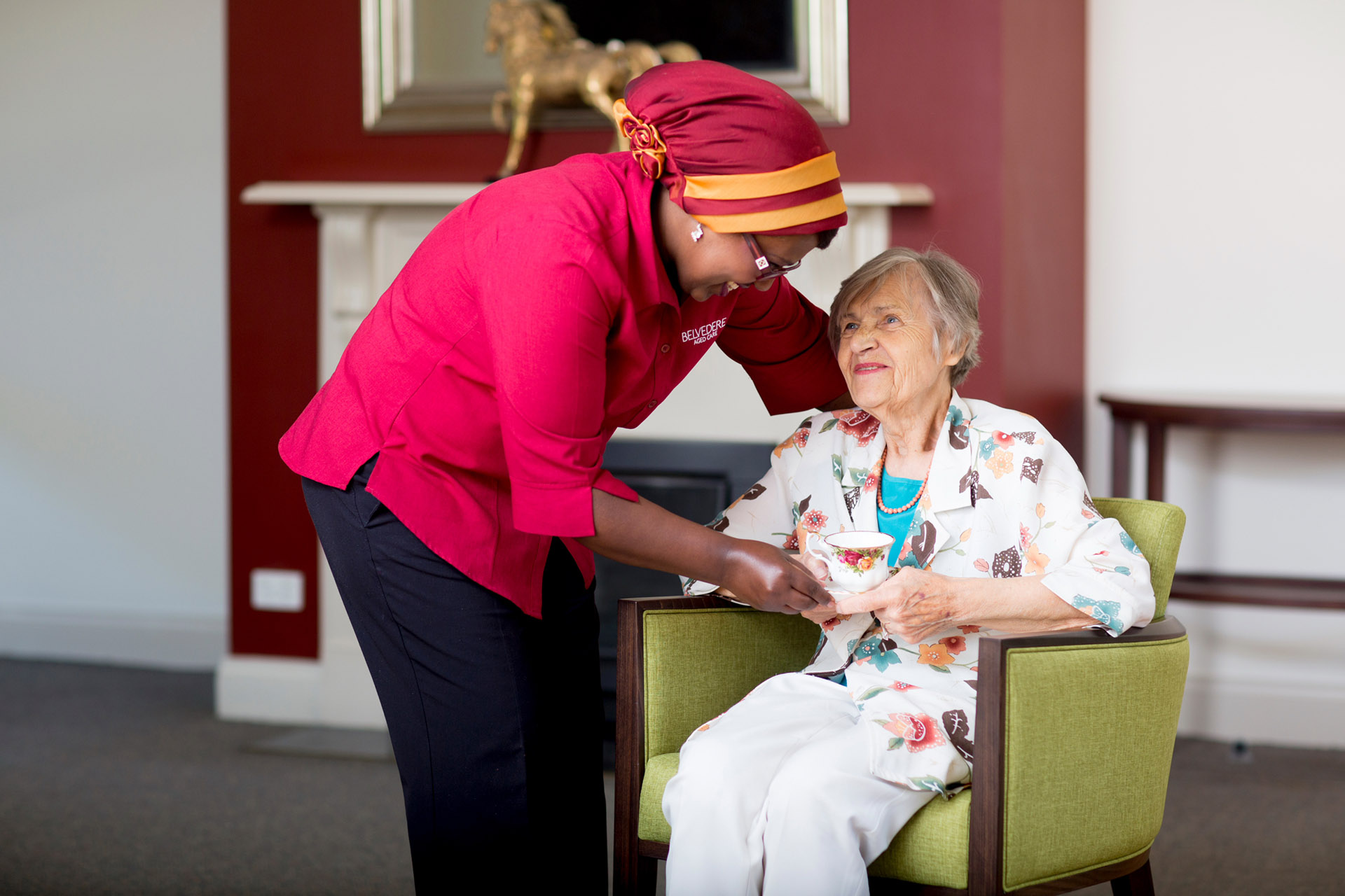 Melbourne aged care marketing photography