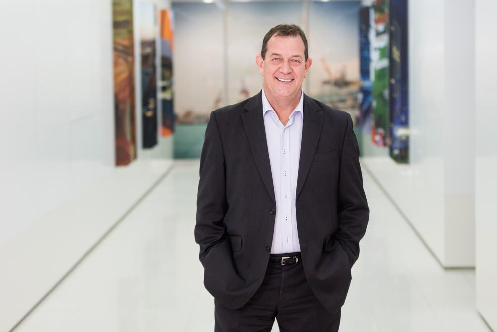 John Holland CEO Portrait Melbourne Photographer
