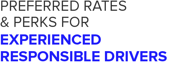 Preferred Rates & Perks