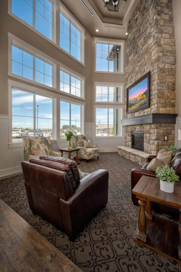 Assisted Living Facility Lounge