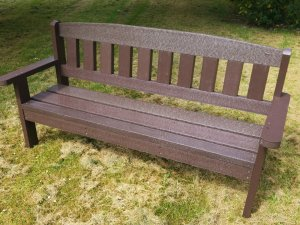 Recycled Plastic Composite Benches