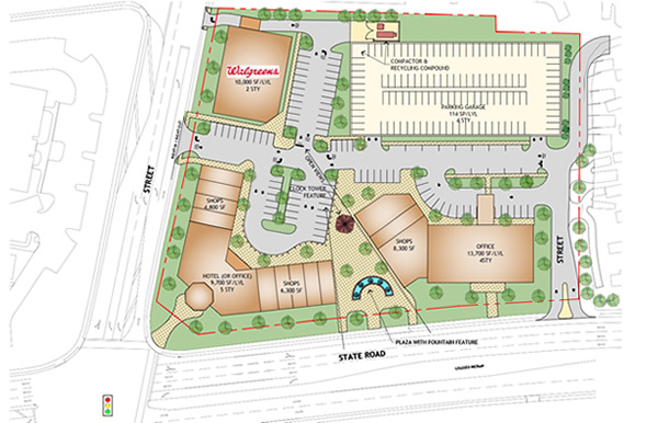 Commercial Site Planning Services