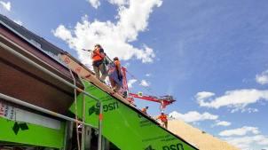 Monarch Casino skylights glass installation 25696-134616