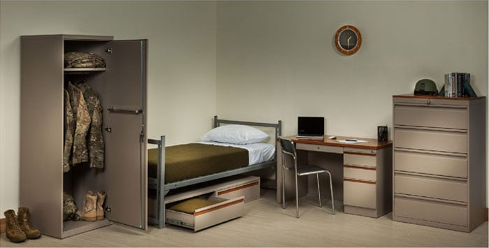 galaxy-series-furniture-military-heavy-duty-beds-wardrobes-desks-Intensive-Use-Metal-Furniture