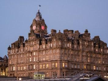 Un grand hôtel d'Edimbourg du côté de Princes street