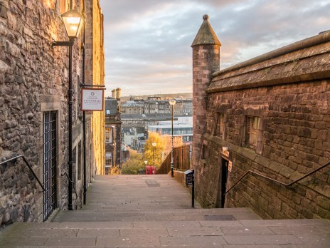 Une ruelle d'Edimbourg