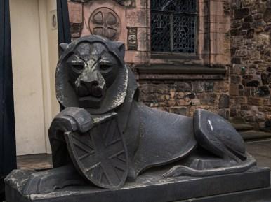 Le lion, le symbole de l'Angleterre