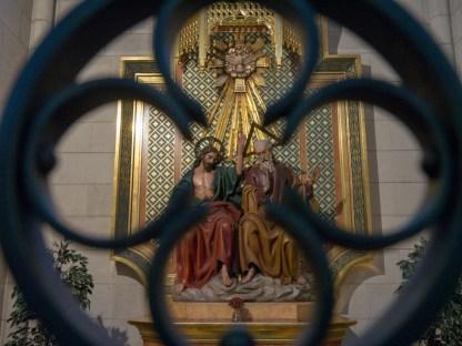 Une des chapelles de la cathédrale de la Almudena