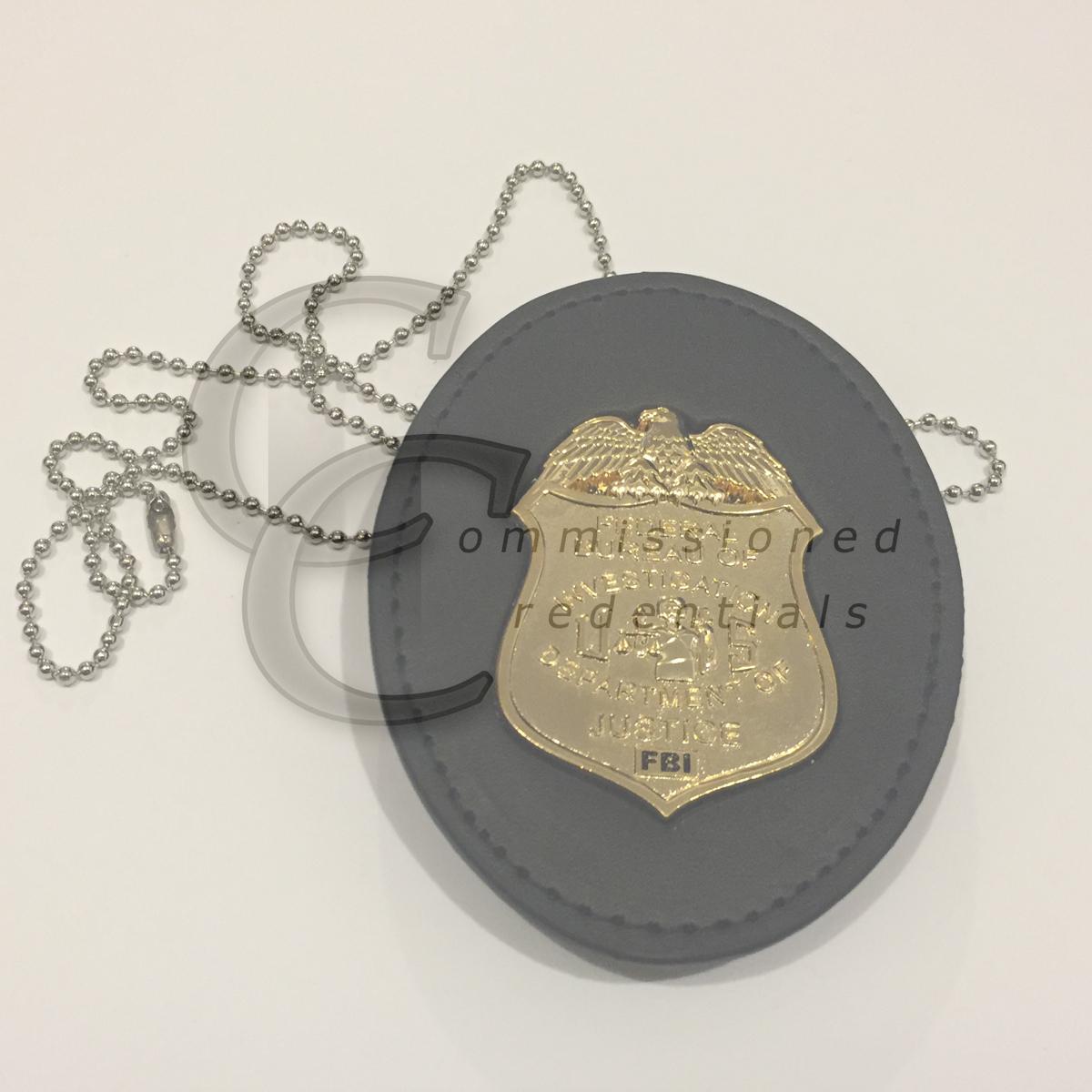 Fbi Badge Belt Clip Commissioned Credentials Drug enforcement administration dea badge neck hanger w/chain badge not included. fbi badge belt clip