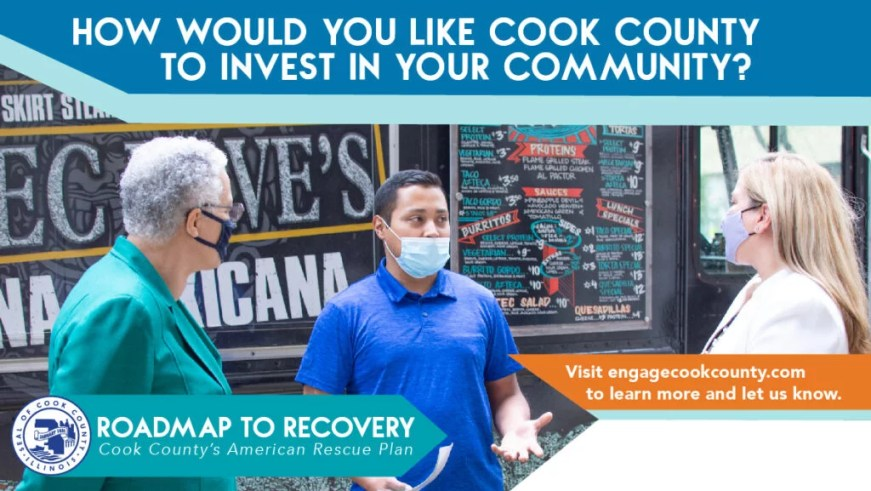 invest in your community and take the American Rescue Plan Act survey