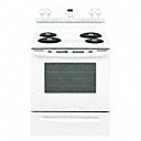 Electric Oven Range, White, 46 5/8 inH x 29 7/8 inW x 28 1/2 in Depth-(Available in electric & natural gas, Stainless Steel, Black & White, 29 7/8 in  - 31 51/64 in Width, 36 43/64 in - 50 3/64 in Height, 25 3/4 in - 29 33/64 in Depth, 4.2 cu ft- 5.3 cu ft Lower oven capacity, 2.5 cu ft - 5.3 cu ft Upper oven capacity, ADA Compliant yes & no) - Available on credit