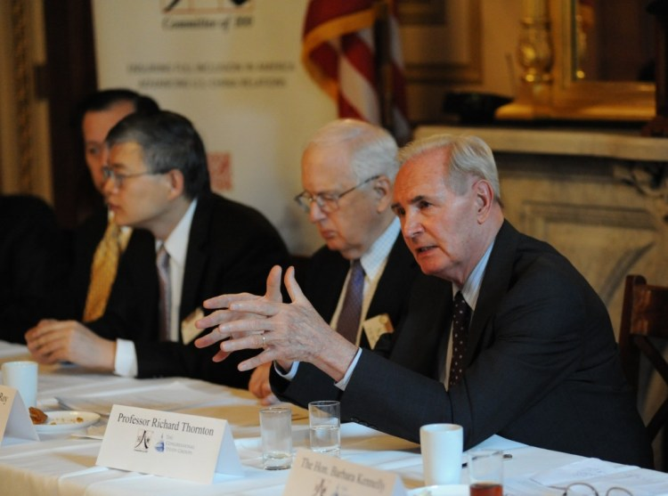 Professor Richard Thornton explains how geopolitics in Asia influence U.S.-China relations