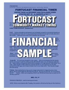 Fortucast Sample Financial Timer