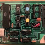 Acorn Adam Shows Commodore MOS 6502 CPU