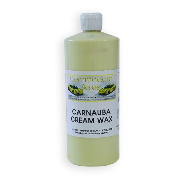 Carnauba Cream Wax