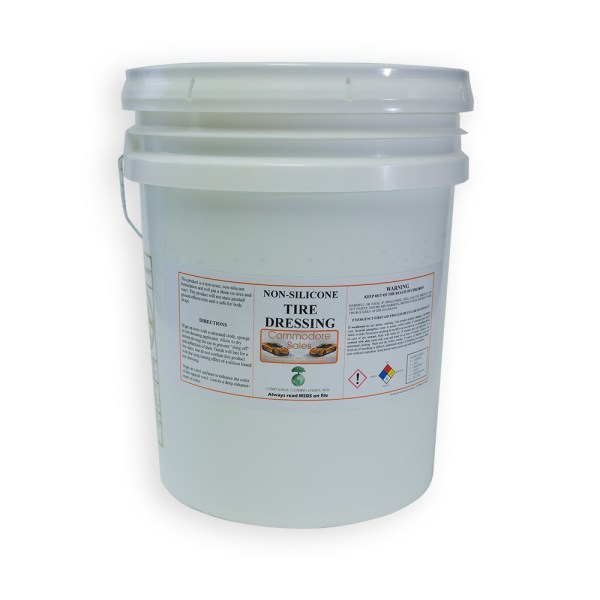 NON SILICONE TIRE DRESSING - 5 Gallon Pail
