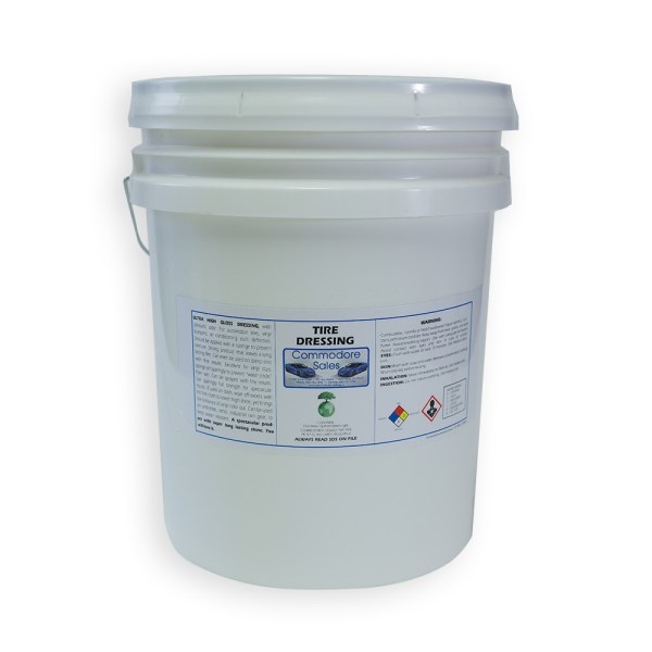 TIRE-DRESSING - 5 Gallon Pail