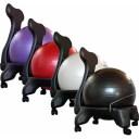 Balance/Exercise Ball Chair Color: Purple
