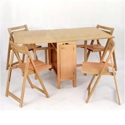 Space saver dining room table