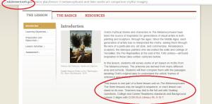 Website: http://edsitement.neh.gov/