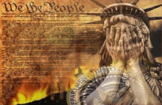 Lady Liberty Weeps 2
