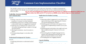 This guide from 2013 is still in use by Elementary School principals who belong to the NAESP.