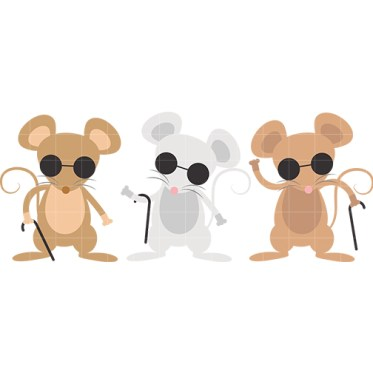 Three Blind Mice Clip Art N4 image in Vector cliparts category at pixy.org
