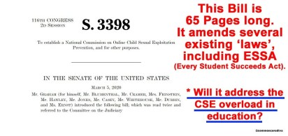 "S3398 ""The EARN It Act"""
