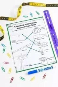 Selecting Measurement Tools Worksheet