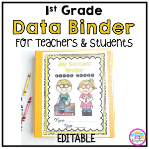1st grade success notebook for teachers and students