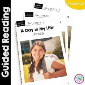 A Day in My Life- Spain- Differentiated Guided Reading (Sequence)1