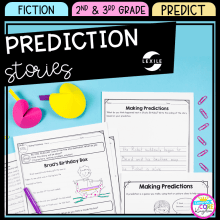 Prediction Stories Unit for 2nd and 3rd grade cover