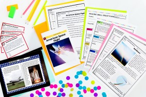 Digital and printable distance learning resources that help make your reading block more flexible.