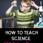 How to Teach Science while Distance Learning pin
