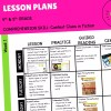 Context Clues lesson plan cover for 4th & 5th grade reading