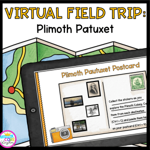 Virtual Field Trip to Plimoth Colony for 2nd - 5th grades