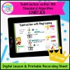 Subtract with Standard Algorithm Digital Lesson for 2nd Grade