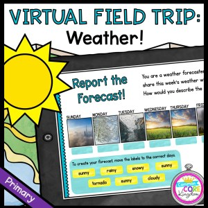 Virtual Field Trip: Weather! - Primary in Google Slides & Seesaw Format