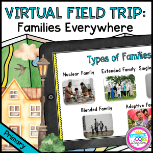 Virtual Field Trip: Family Structures - Primary - Google Slides & Seesaw