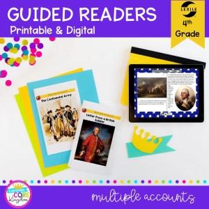 Guided Reading Packet: Multiple Accounts - 5th Grade RI.5.6 - Printable & Digital