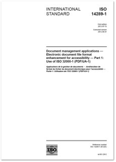 ISO 14289-1:2012.