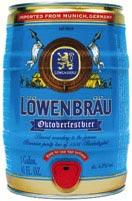 Keg of Löwenbräu - The Only Way To Travel