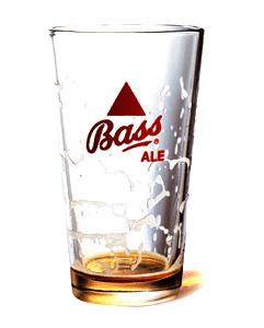 Bass Ale Glass