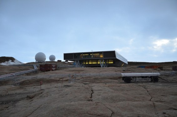 Bharati Research Station. Image: National Center for Antarctic and Ocean Research (NCAOR)