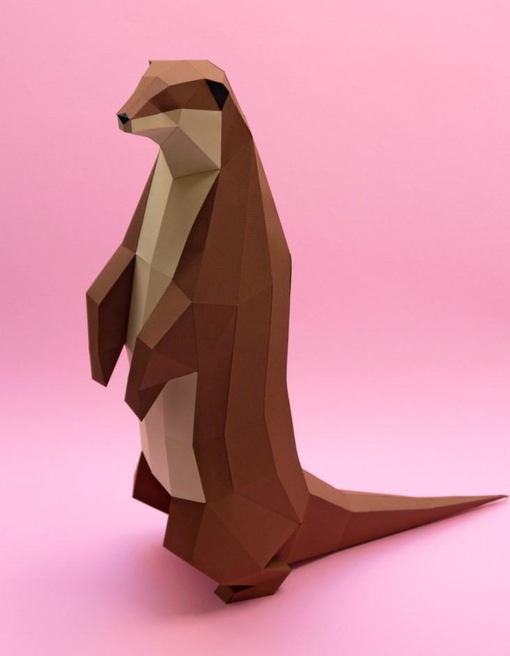 Nutria europea / European otter (Lutra lutra) by Estudio Guardabosques