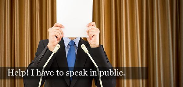 fear of speaking in public